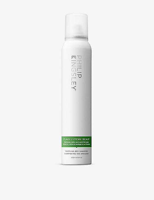 PHILIP KINGSLEY: Flaky/Itchy Scalp Soothing dry shampoo 200ml