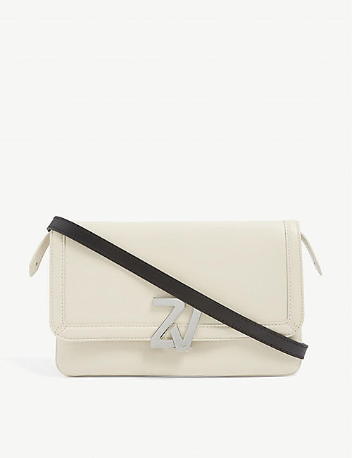 ZADIG&VOLTAIRE: ZV Initiale leather cross-body bag
