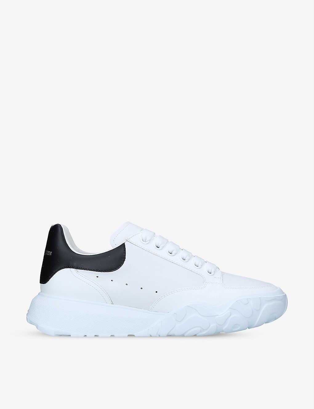 Men's Court leather mid-top trainers(9052715)