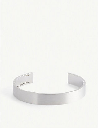 LE GRAMME: Ribbon Le 33g sterling silver bangle bracelet