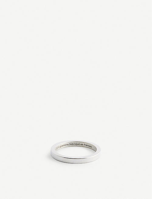 LE GRAMME: Ribbon La 3g sterling-silver ring