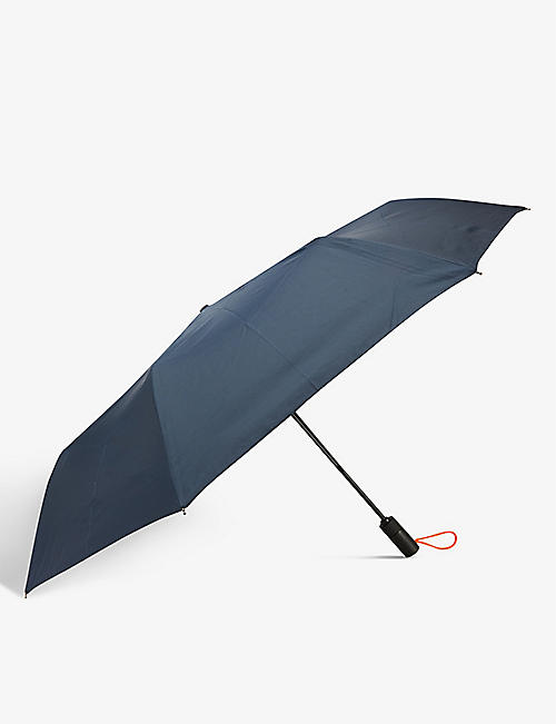 LONDON UNDERCOVER: Auto-Compact recycled-polyester umbrella