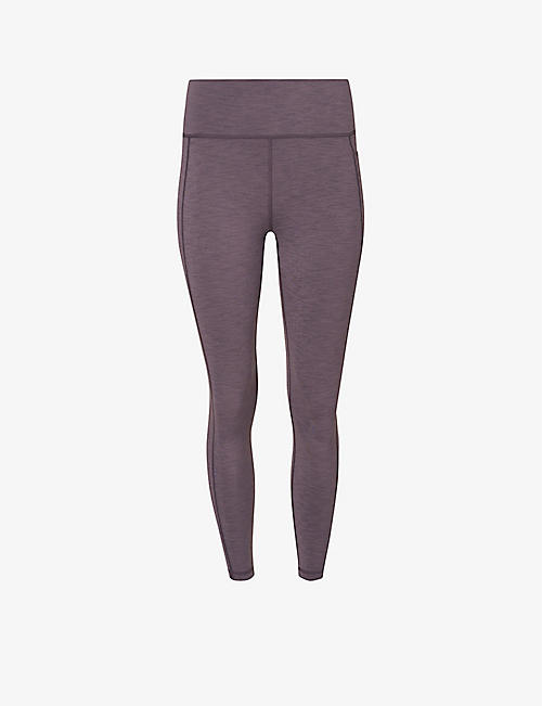 SWEATY BETTY: Super Sculpt 7/8 high-rise stretch-jersey leggings