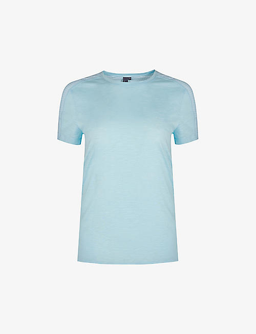 SWEATY BETTY: Breeze stretch-jersey running T-shirt