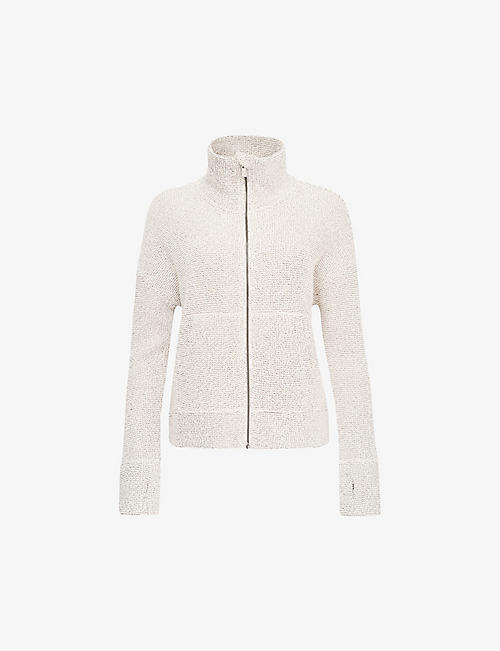 SWEATY BETTY: Restful cotton-blend sweatshirt