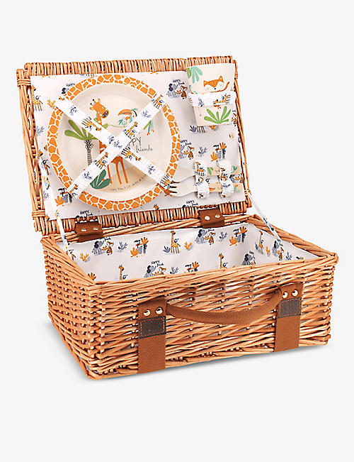 LES JARDINS DE LA COMTESSE: Savannah wicker picnic basket set
