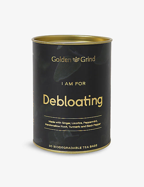 GOLDEN GRIND: Debloating tea 30 bags
