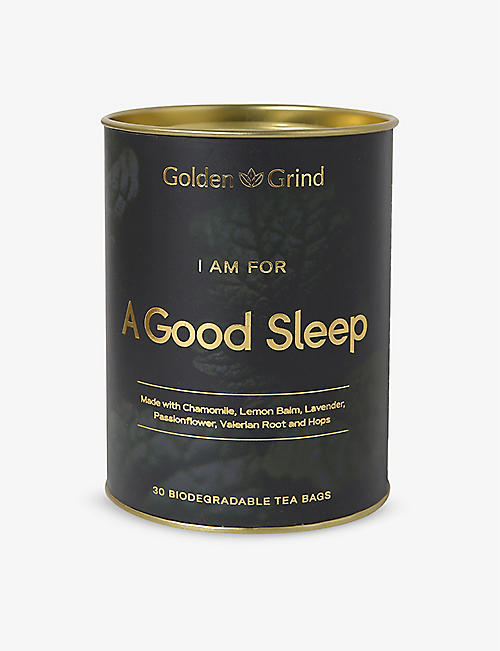 GOLDEN GRIND: Sleep tea bags 100g