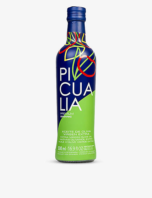 PICUALIA: Premium organic extra-virgin olive oil 500ml