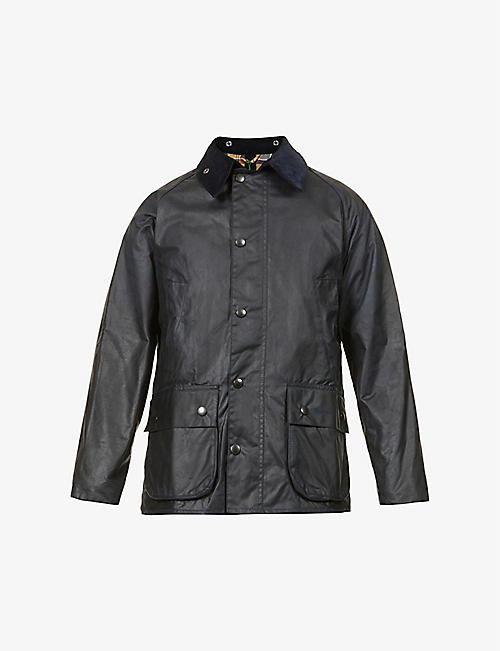 BARBOUR: Bedale waxed-cotton jacket