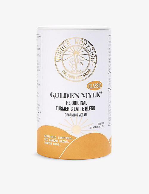 WUNDER WORKSHOP: Golden Mylk Classic tumeric latte blend 150g: