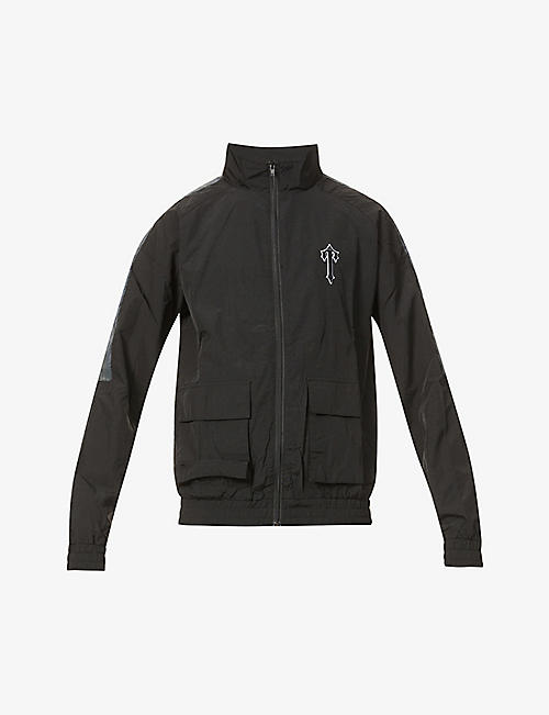TRAPSTAR: Utility branded shell jacket