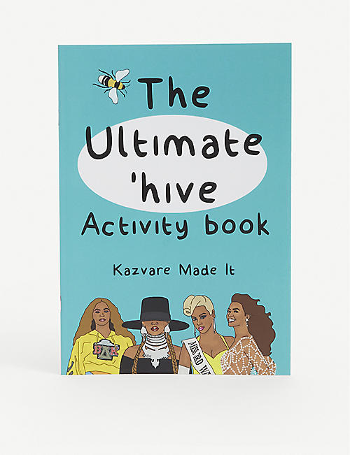 KAZVARE MADE IT: The Ultimate 'Hive recycled-paper activity book