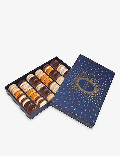 LADUREE: Firework macarons giftbox of 42 672g
