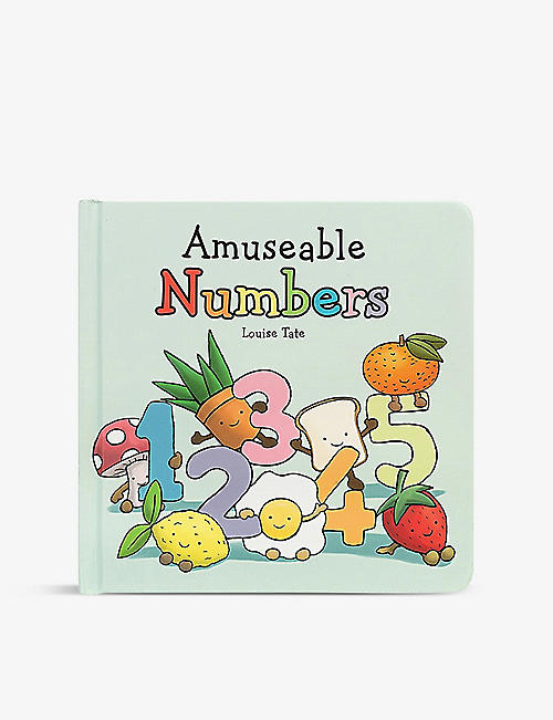 JELLYCAT: Amuseable Numbers paperback book