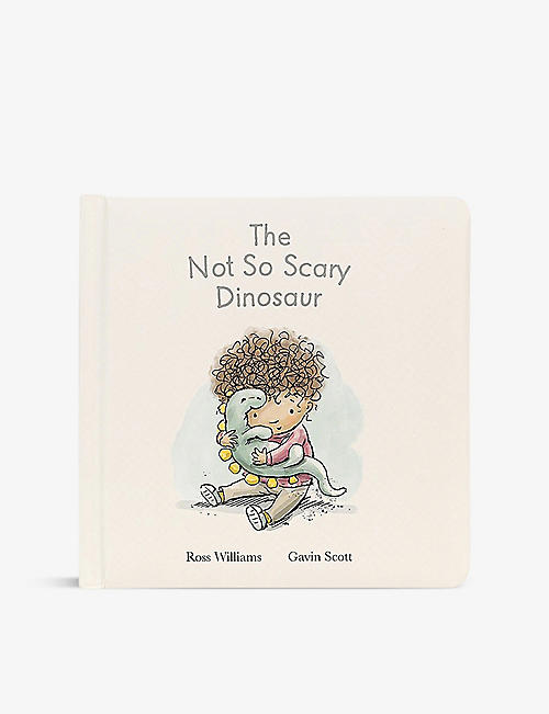 JELLYCAT: The Not So Scary Dinosaur paperback book