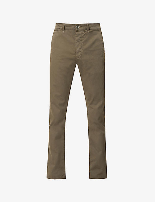 CITIZENS OF HUMANITY: London slim-fit cotton-blend trousers