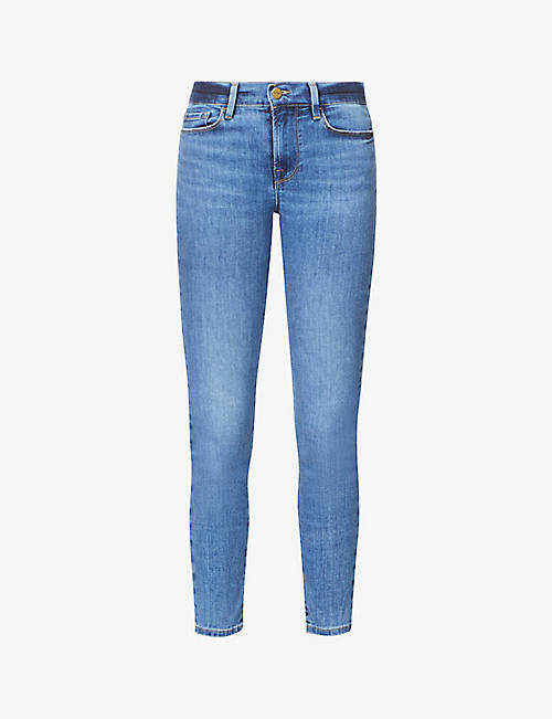 FRAME: Le Skinny de Jeanne skinny high-rise stretch-denim jeans