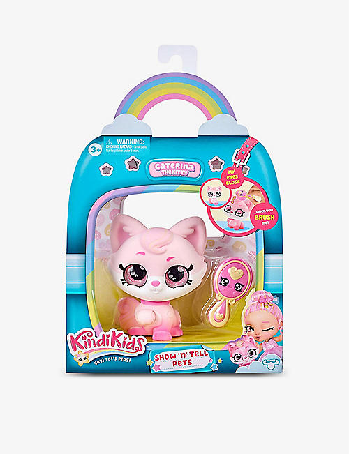POCKET MONEY: Show 'n' Tell Caterina the Kitty 12cm