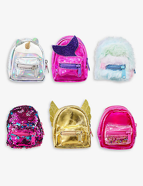 POCKET MONEY: Micro Backpack with stationary surprises assortment 9cm