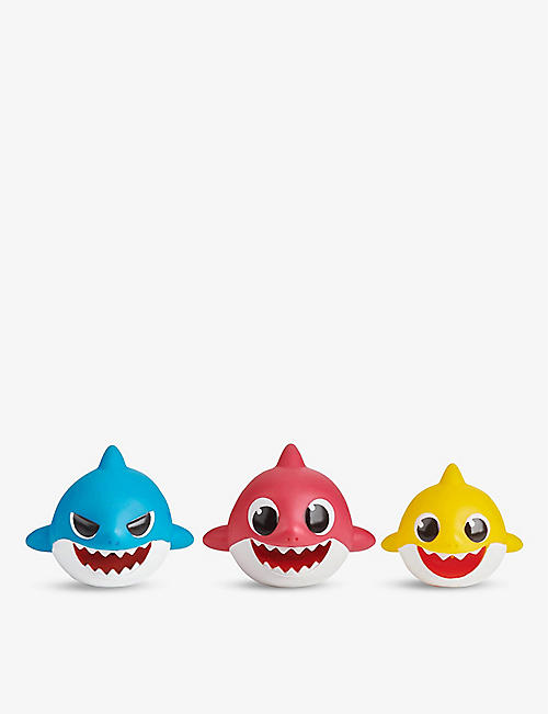 BABY SHARK: Baby Shark Bath Squirter set pack of three