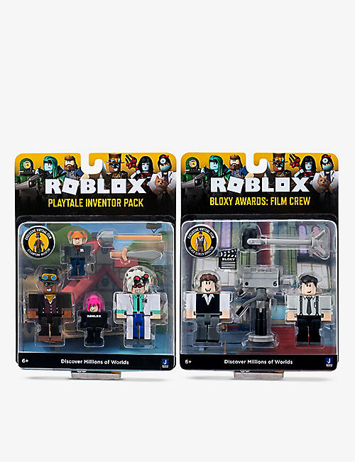 ROBLOX: W7 Game Pack playset assortment