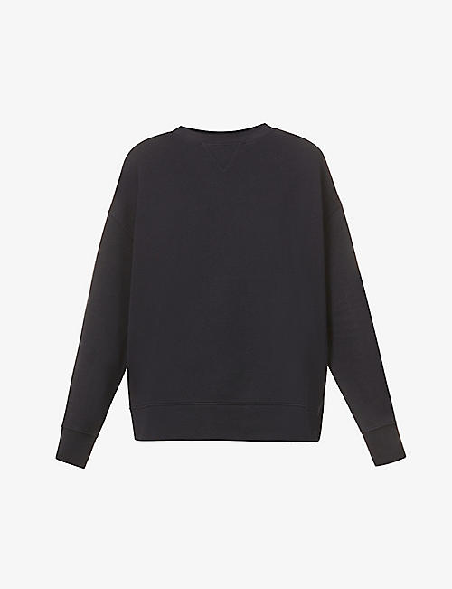 VINCE: Essential Relaxed cotton-jersey jumper
