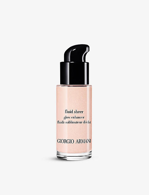 GIORGIO ARMANI: Fluid Sheer Glow Enhancer liquid highlighter 18ml
