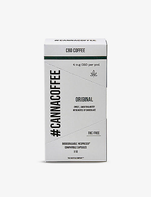 COFFEE: CANNACOFFEE Original CBD coffee pods 57g