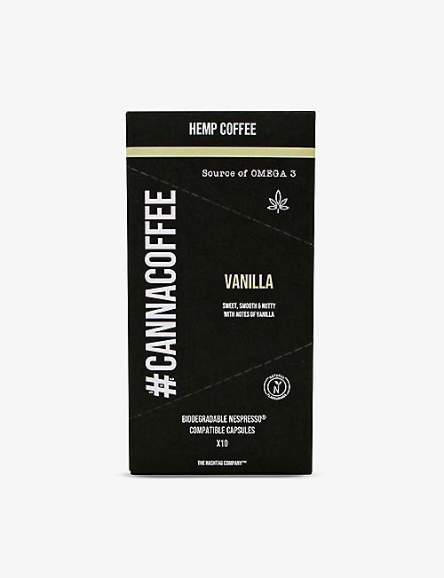 COFFEE: Cannacoffee Vanilla Hemp coffee pods 57g