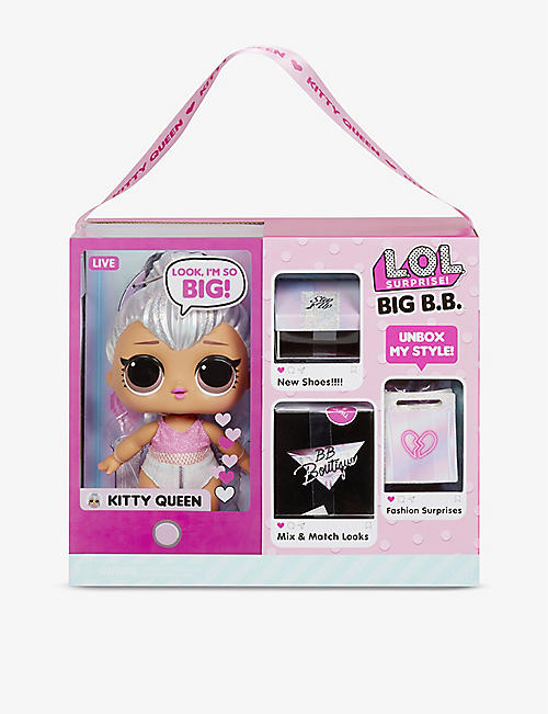 L.O.L. SURPRISE: Big B.B. Kitty Queen doll 28cm