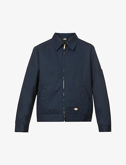 DICKIES: Eisenhower lined cotton-twill jacket