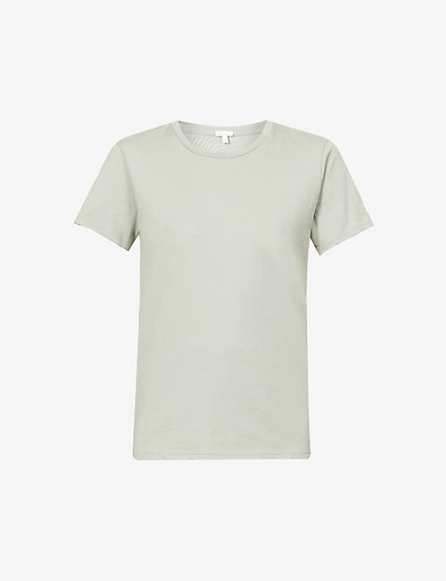 SKIN: Carly organic-cotton jersey T-shirt