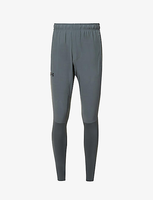 UNDER ARMOUR: Hybrid slim-fit stretch-jersey trousers