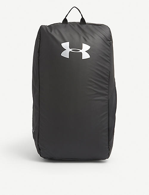 UNDER ARMOUR: Contain woven duffle backpack