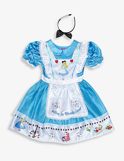 DRESS UP: Alice In Wonderland fancy dress costume 3-8 years