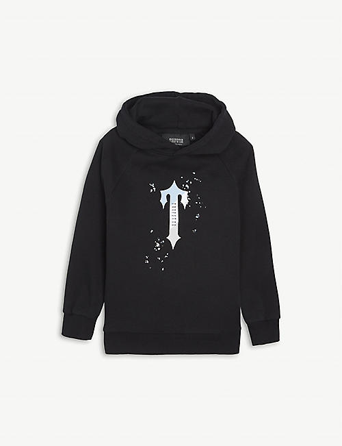 TRAPSTAR: Trip Drip branded cotton hoody 4-10 years