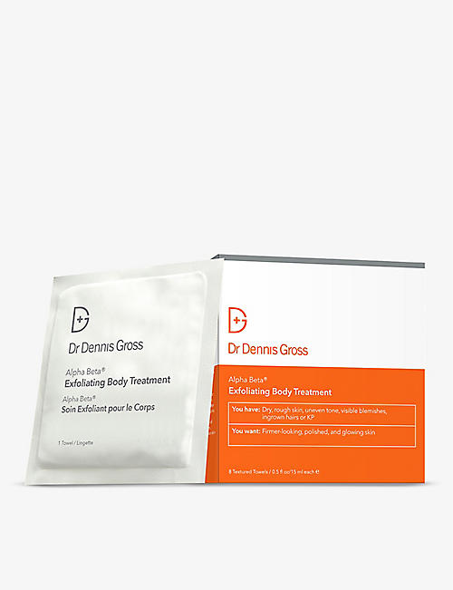 DR DENNIS GROSS SKINCARE: Alpha Beta® Exfoliating body treatment 8 applications