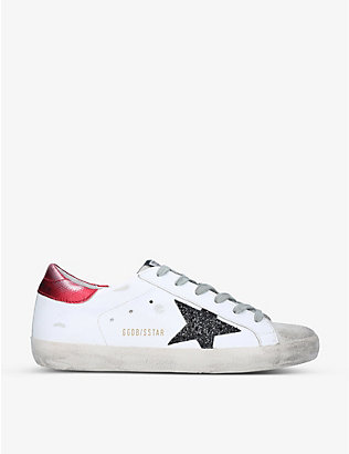 GOLDEN GOOSE: Superstar 80170 leather low-top trainers
