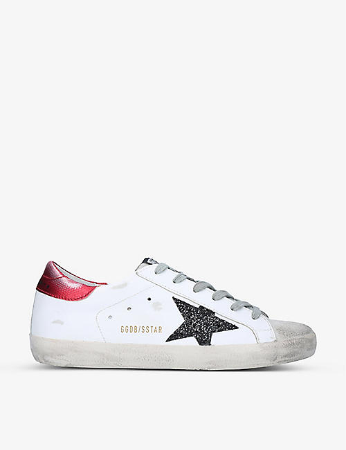 GOLDEN GOOSE:Superstar 80170 皮革低帮运动鞋