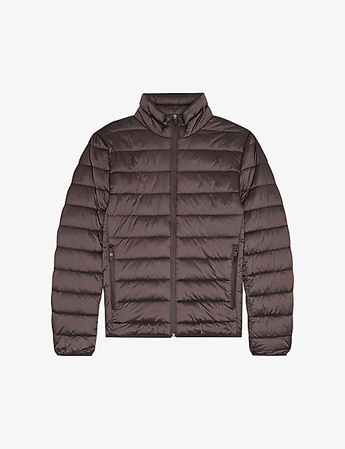 REISS: Armstrong quilted shell jacket