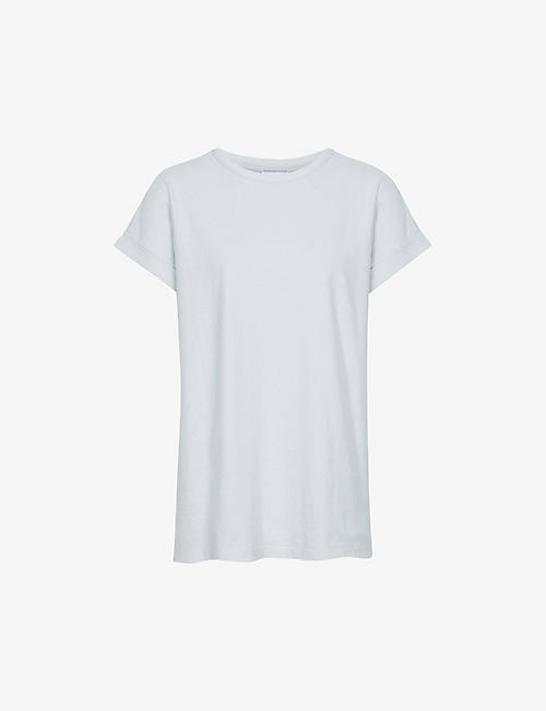 REISS: Tereza cotton-jersey T-shirt