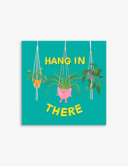中央 23: Hang In There 贺卡