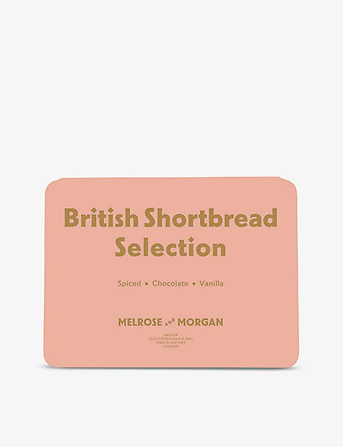 MELROSE & MORGAN: Shortbread selection tin 570g