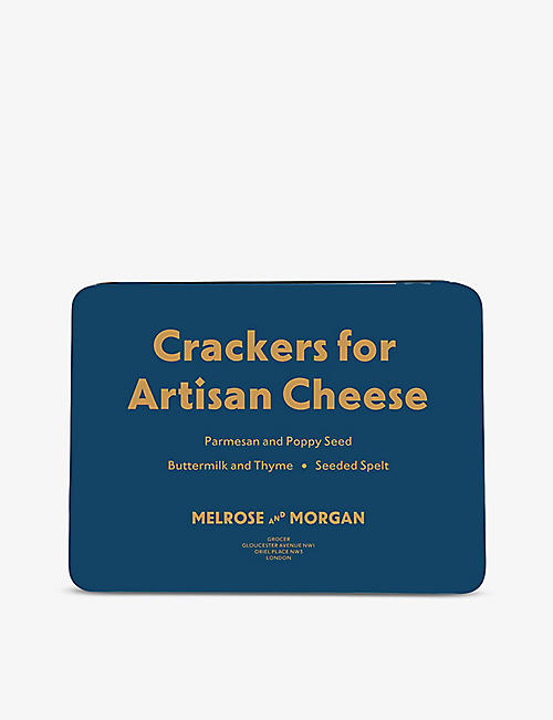 MELROSE & MORGAN: Artisan Cracker selection tin 380g