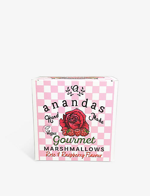 ANANDA'S: Vegan rose and raspberry marshmallows 80g