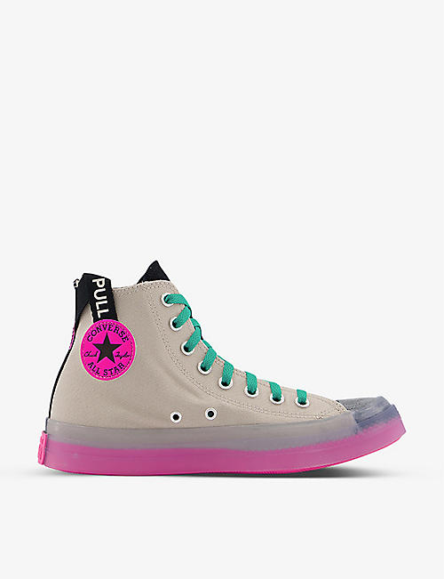 CONVERSE: Chuck Taylor All Star CX canvas trainers