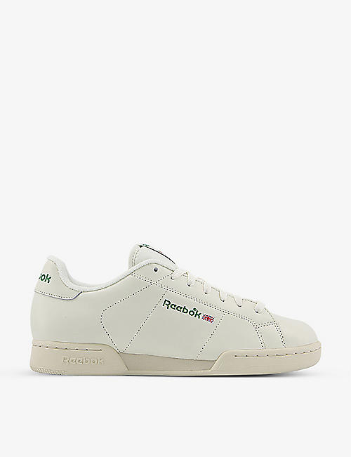 REEBOK: NPC II leather trainers