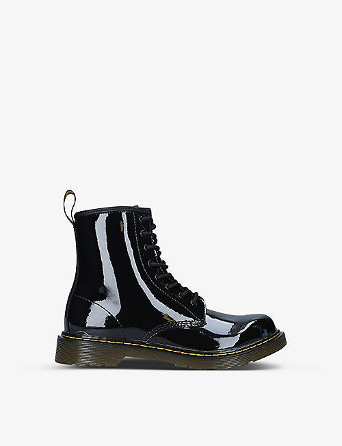 DR MARTENS: 1460 8-eye leather boots 9-10 years