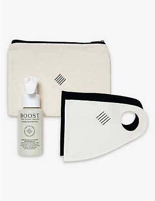 THE LIGHT SALON: Antimicrobial Mask & Skin Repair set